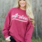 Grumpy Pig, Game Day Shirt, Woo Pig, Arkie, Arkansas, Natural State, Football, Red